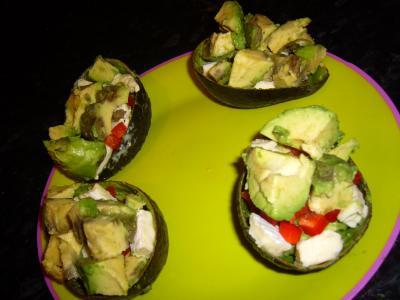 Entr e v g tarienne salade d 39 avocat cuisine for Entree facile et rapide