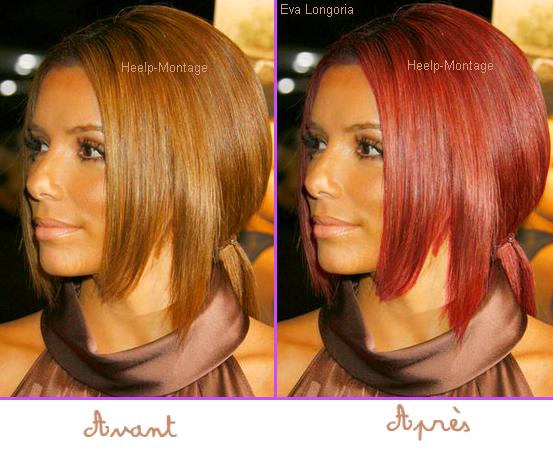 changer de couleur de cheveux - Logiciel Coloration Cheveux Gratuit