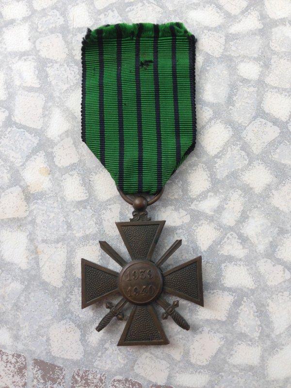 croix de guerre de vichy