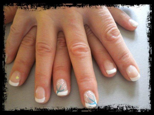 Gel sur ongles naturels blog de soft manucure - Ongles french manucure photos ...
