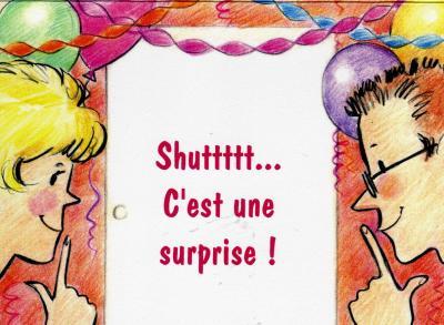 L 39 invitation anniversaire surprise d 39 evelyne et michel - Invitation anniversaire surprise ...