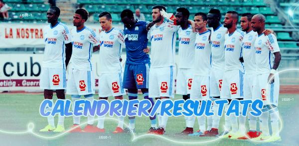 Ligue-1 : #8 : Calendrier/Résultats