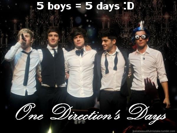 One Direction's Days !