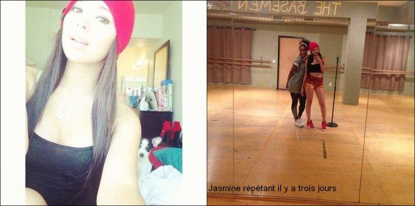 .  Nouvelle photos de Jasmine en compagnie de Gabi & Neicy la semaine derni�re sur le set de son Photoshoot pour ADIDAS  .