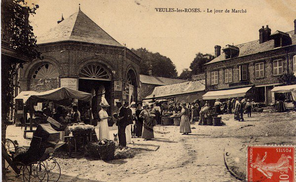 """Extrait de ma collection de cartes postales anciennes """"Ethnologie"""" Marchés - """"Au pays du rêve ..."""