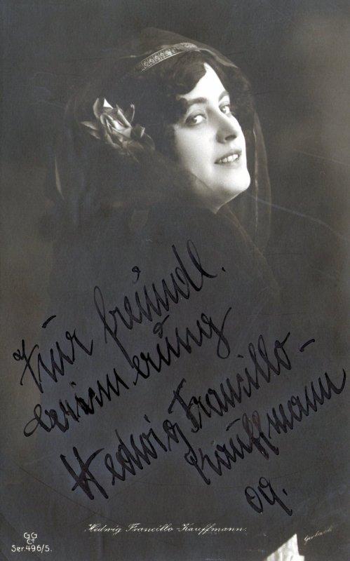 Extrait de ma collection de cartes postales  (Cin�ma, Th��tre, Danse, Chanson...)