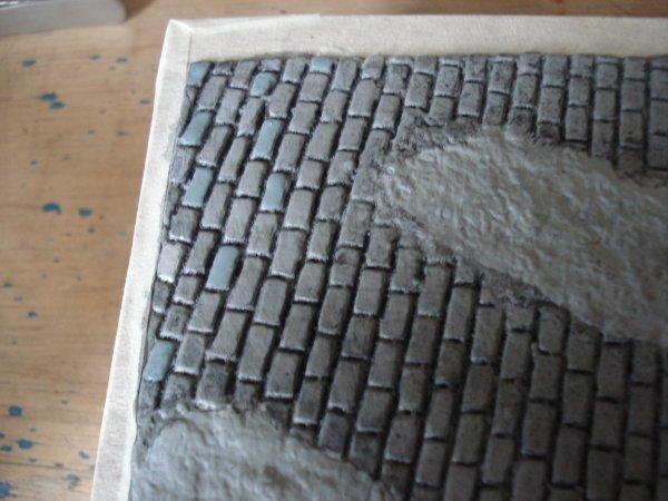 Mais comment font ils peindre des pav s anjou maquette49 - Peindre des paves autobloquants ...