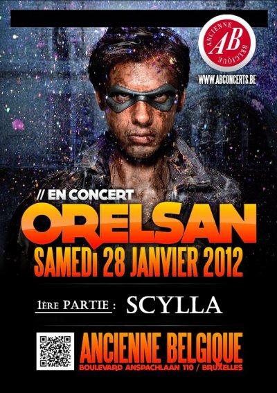 SCYLLA EN 1ERE PARTIE D'ORELSAN A L'ANCIENNE BELGIQUE !