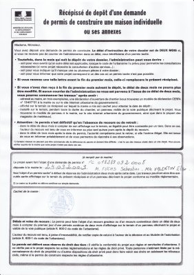 Blog de titmili54 page 4 ma maison phenix for Depot permis construire