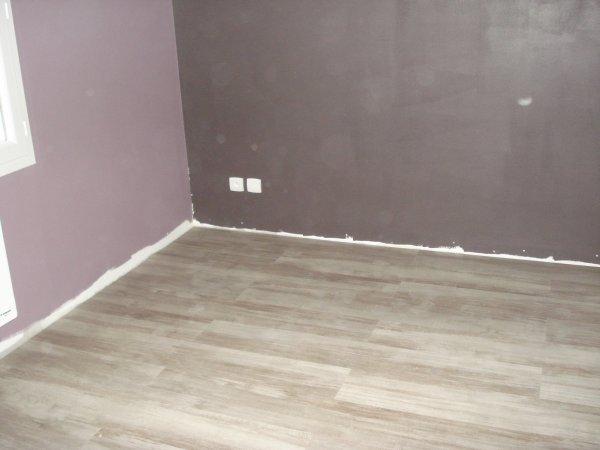 couleur de notre chambre avec le parquet fini les plinthes ont t pos e ma maison phenix. Black Bedroom Furniture Sets. Home Design Ideas