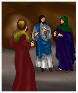 قصة الثلاثة الذين أووا الى الغار