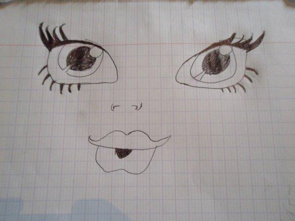 Mes dessin monster high fin que les yeux pas facile avec le corp photographie dolls - Dessin yeux facile ...
