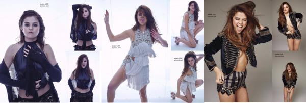 Sel dans Cosmo aux Philippines, Deux photoshoots et maquillage du revival Tour. ♥