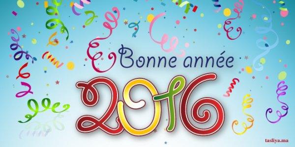 Bonne Ann�e 2016 � toutes et tous