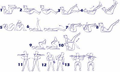 > Musculation des abdominaux