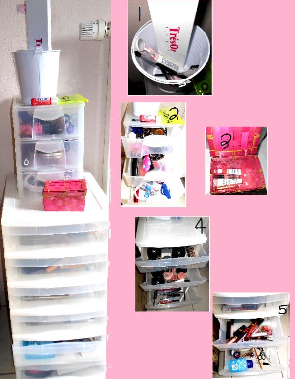 maquillage mon rangement make up elisacosmetiques. Black Bedroom Furniture Sets. Home Design Ideas