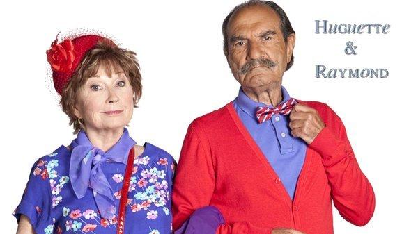 Le couple Huguette & Raymond