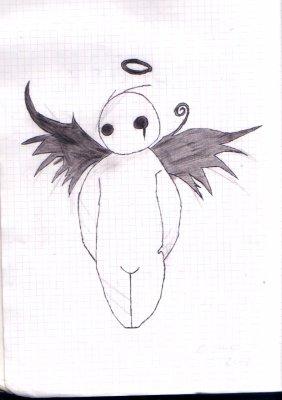 Ange triste blog de tous mes dessins - Dessins triste ...