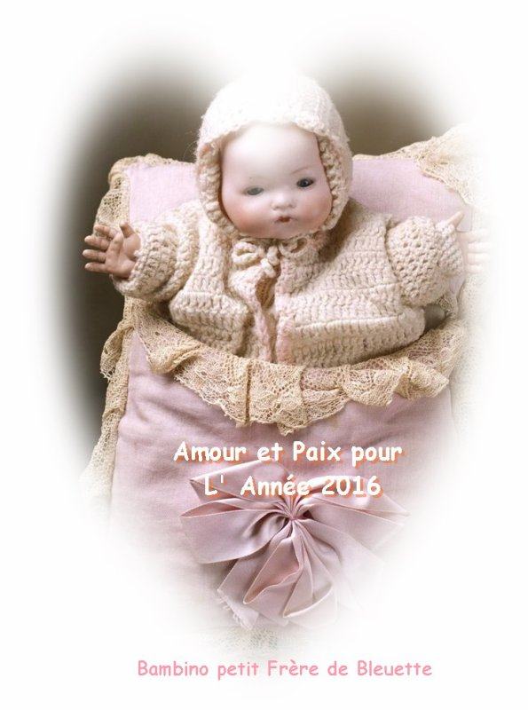 Bambino Petit Frère de Bleuette 2016