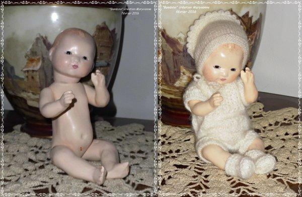 Bambino Petit Frère de Bleuette Habillés