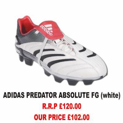 adidas predator blanche