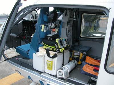 H lico samu passion pompier tous les for Interieur helicoptere
