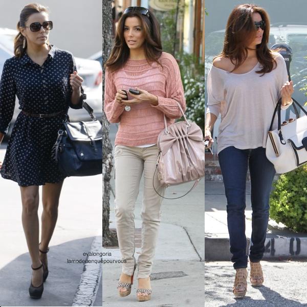 Street Style D 39 Eva Longoria La Mode Rien Que Pour Vous