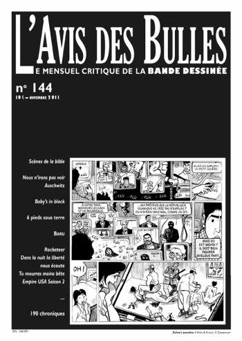L'avis des bulles n° 144 - novembre 2011