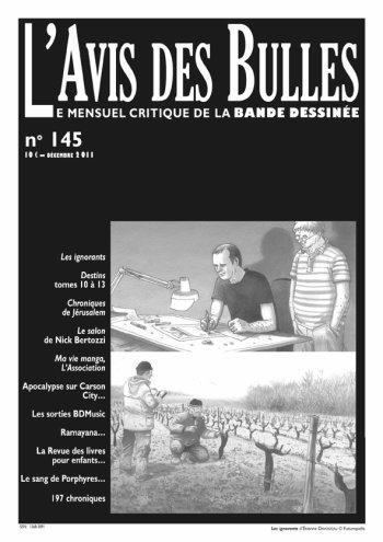 L'avis des bulles n° 145 - décembre 2011