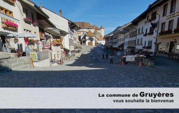 La commune de Gruyères: Histoire