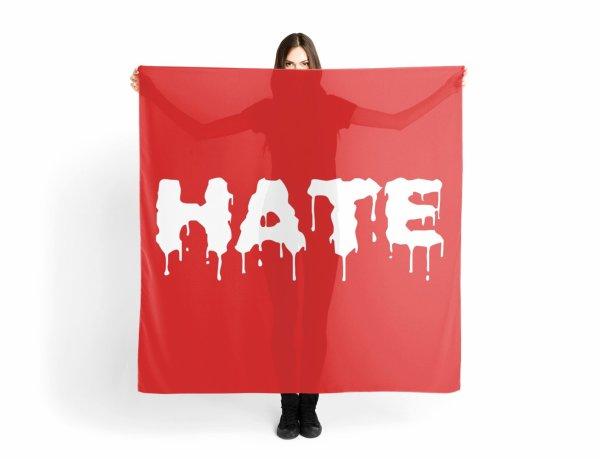 De partout vient la haine