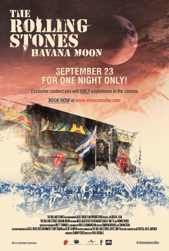 The Rolling Stones : Havana moon