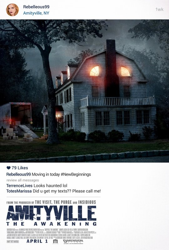 Amityville, or when the seventh art imitates reality