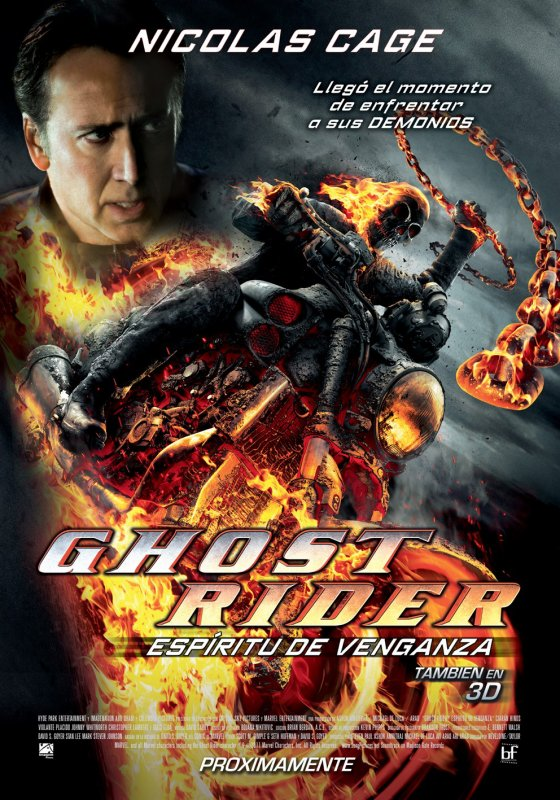 Ghost Rider : L'Esprit de Vengeance is 2012