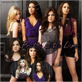 Pretty Little Liars - Pr�sentation de la s�rie.D�coration