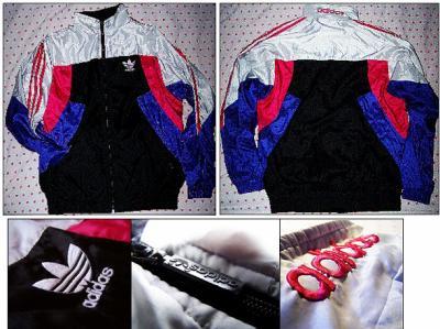 veste adidas noir old school