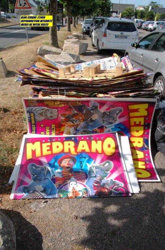 LE CIRQUE MEDRANO SAINT CAST DE GUILDO AO�T 2016