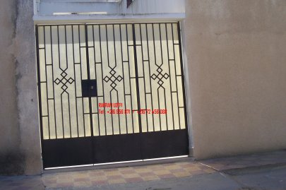 Portail fer forg 63 harmonie de fer forg tunisien for Portail fer forge tunisie