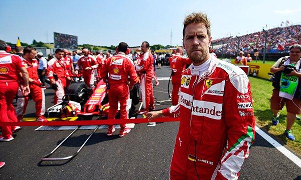 Vettel pousse un coup de gueule