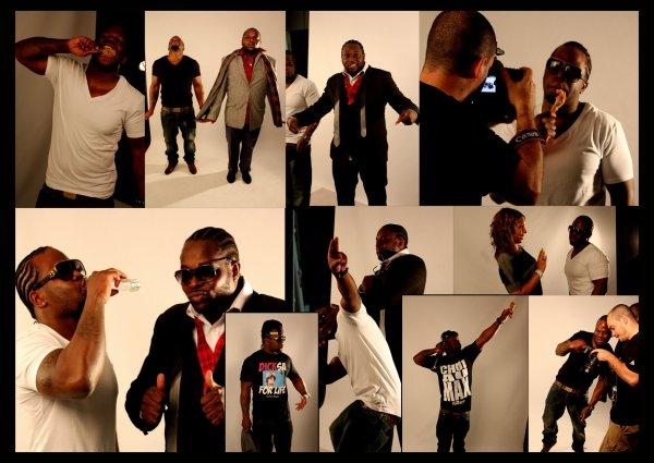 "SHOOTING pour l'album "" SOYONS FOU "" avec Jango Jack"