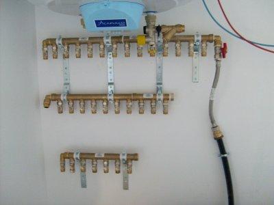 Retour sur la plomberie avec la mise en place du chauffe eau et des clarinett - La maison du chauffe eau ...