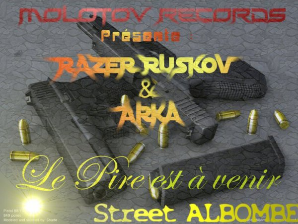 arka razer feat bozo cherche pas a comprendre du 77 au 92  (2010)