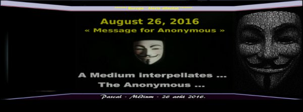 A Medium interpellates The Anonymous ...