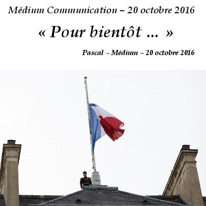 Europe le 20 octobre 2016 ...