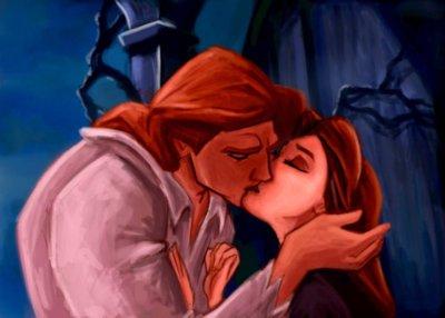 Raiponce et flynn vs le prince adam la b te et la belle - Raiponce et son prince ...