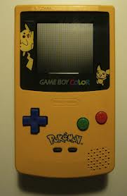Objet collector : La game boy Color Pikachu
