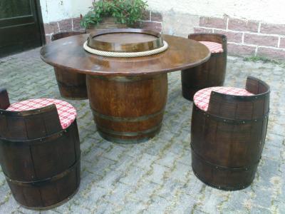 Blog de lemondedutonneau le monde du tonneau - Peindre un tonneau en bois ...