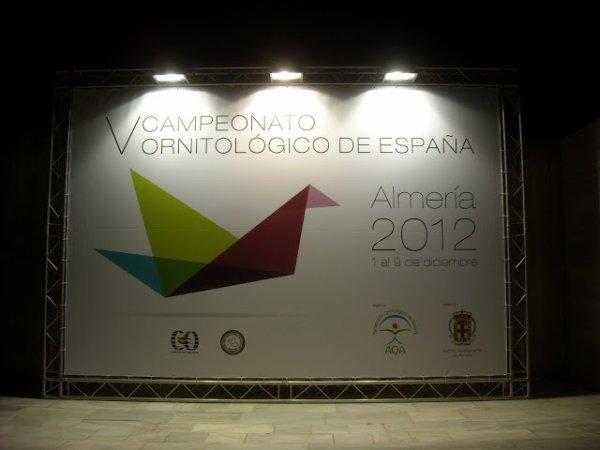 CAMPEONATO DE ESPAÑA COE 2012