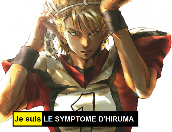 Je suis le symptôme d'hiruma
