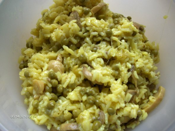 risotto au curry pour 4 personnes 6 pp la part blog de kakonww. Black Bedroom Furniture Sets. Home Design Ideas